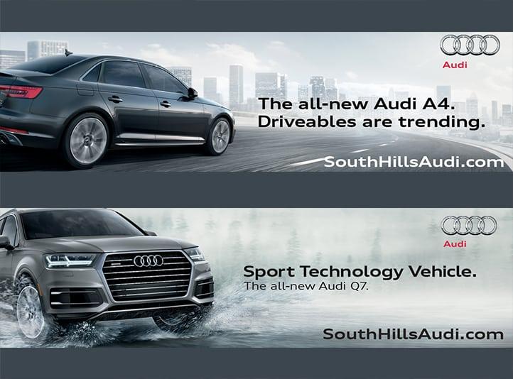 South Hills Audi Digital Ads Marbury Group - South hills audi