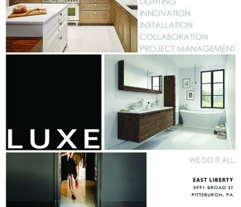 Luxe Ad in Pittsburgh Magazine
