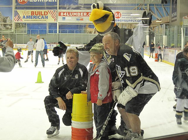 Ronald McDonald House Penguins Skating Event