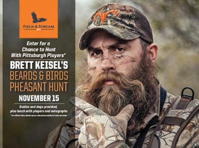 Brett Keisel's Beards and Birds Pheasant Hunt