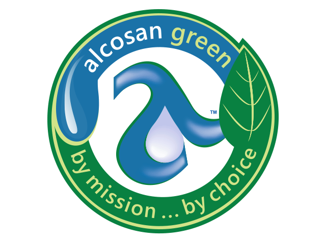 Alcosan Green Logo
